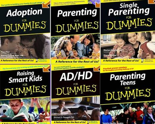 Dummy books on parenting