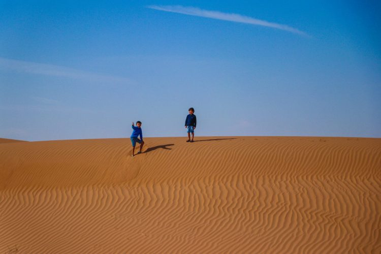 dunes enfants