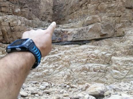 Access to the small Siq (easy climb of 4m)