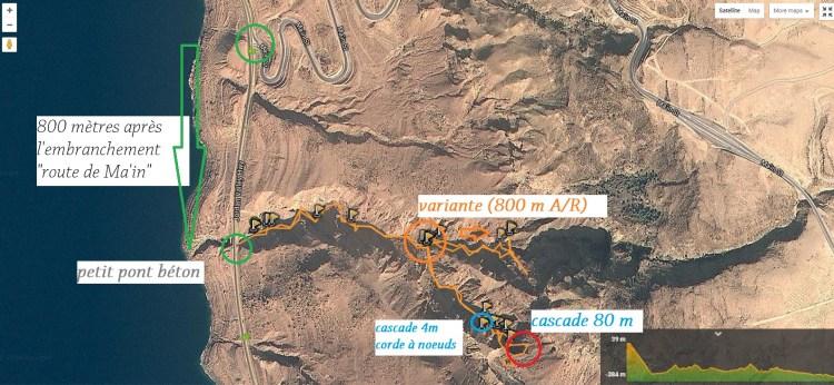 explications accès wadi himara