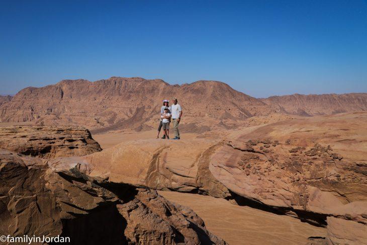 arche burdah wadi rum jordanie
