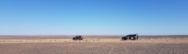 paysage cratere meteorite jordanie