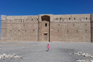 Qasr al Kharana chateau du desert Jordanie