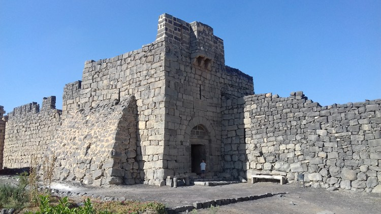 Chateau du desert Azraq jordanie