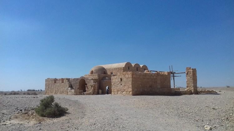 Amra chateau du desert jordanie