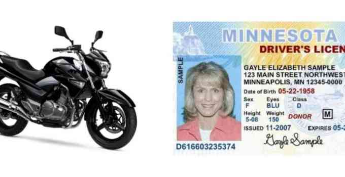 can you register a motorcycle without a licence
