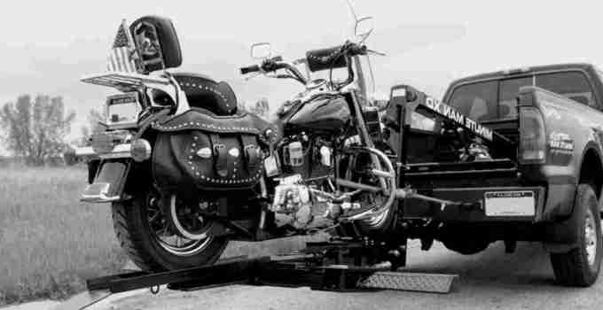 can a motorcycle be repossessed