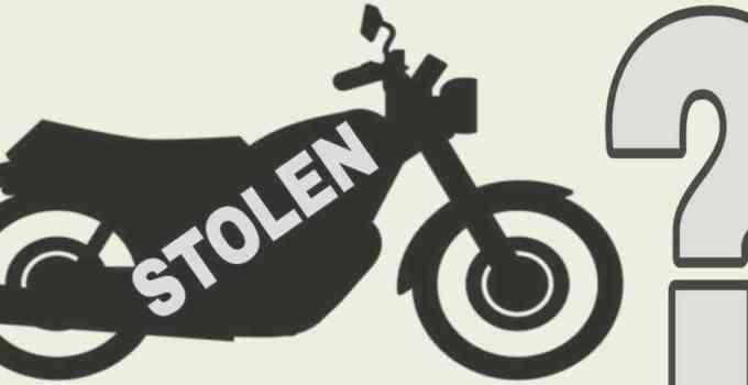 what happens to stolen motorcycles