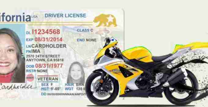 Can you ride a motorcycle without a license