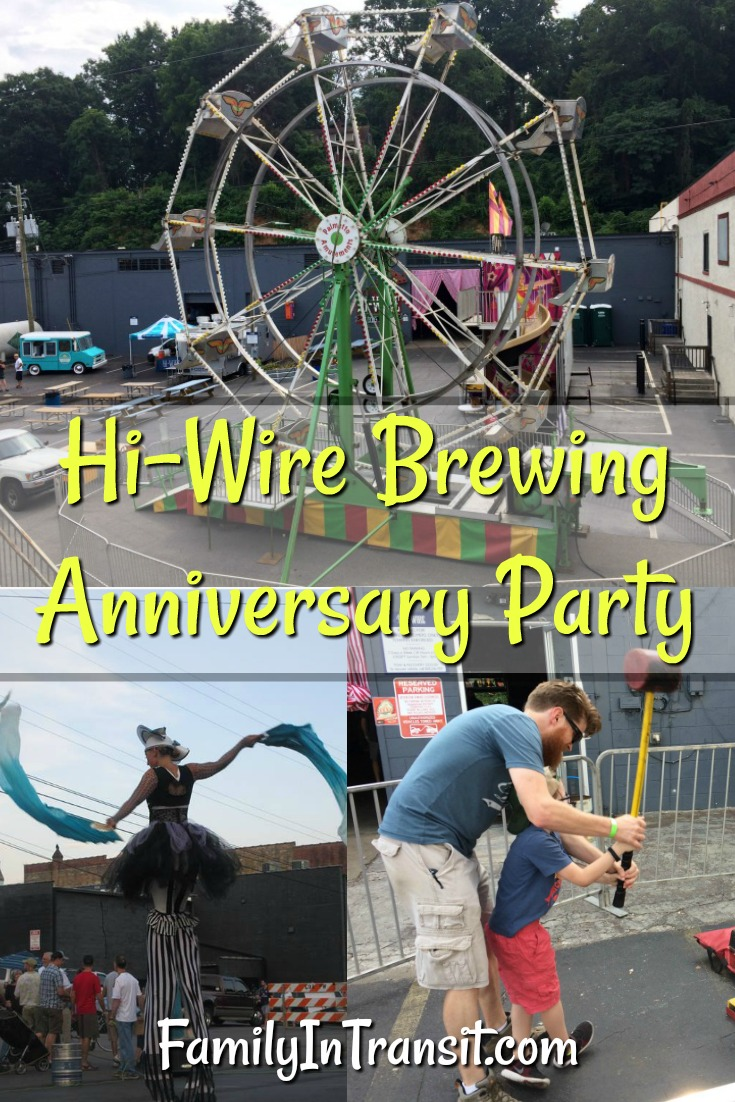 Hi-Wire Brewing Anniversary Party