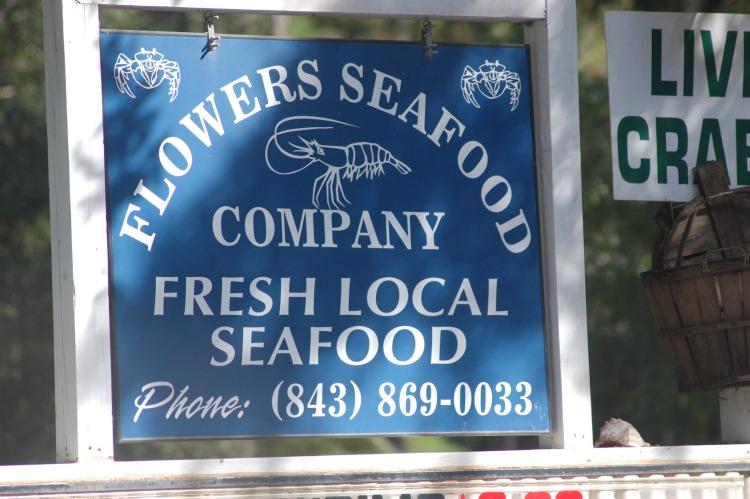flowers seafood