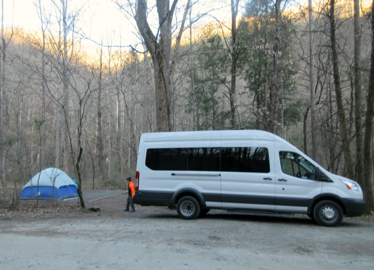 tent camping in pisgah national forest