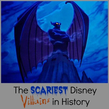 The Scariest Disney Villains in History