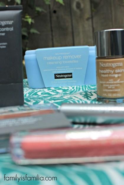 Neutrogena Makeup Remover Challenge- FamilyisFamilia.com