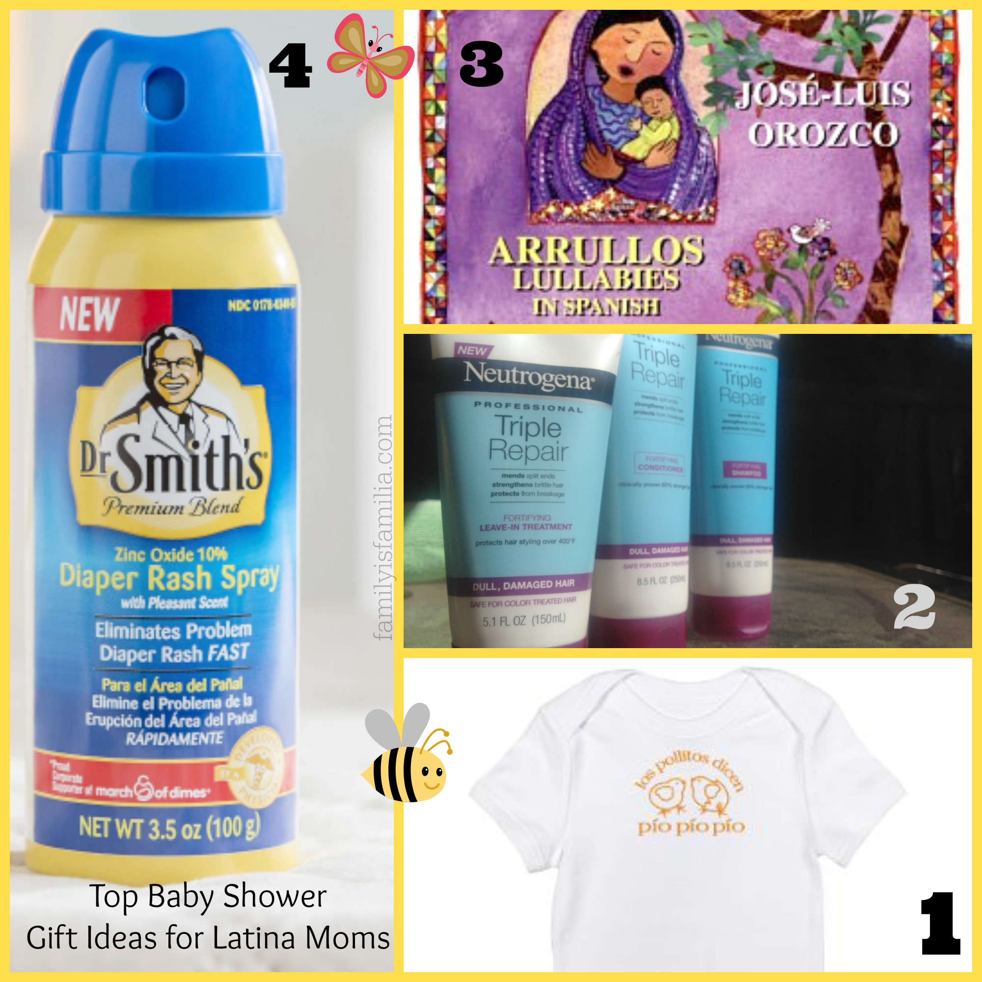 Baby Shower Gift Ideas For Mom : Top baby shower gift ideas for latina moms giveaway