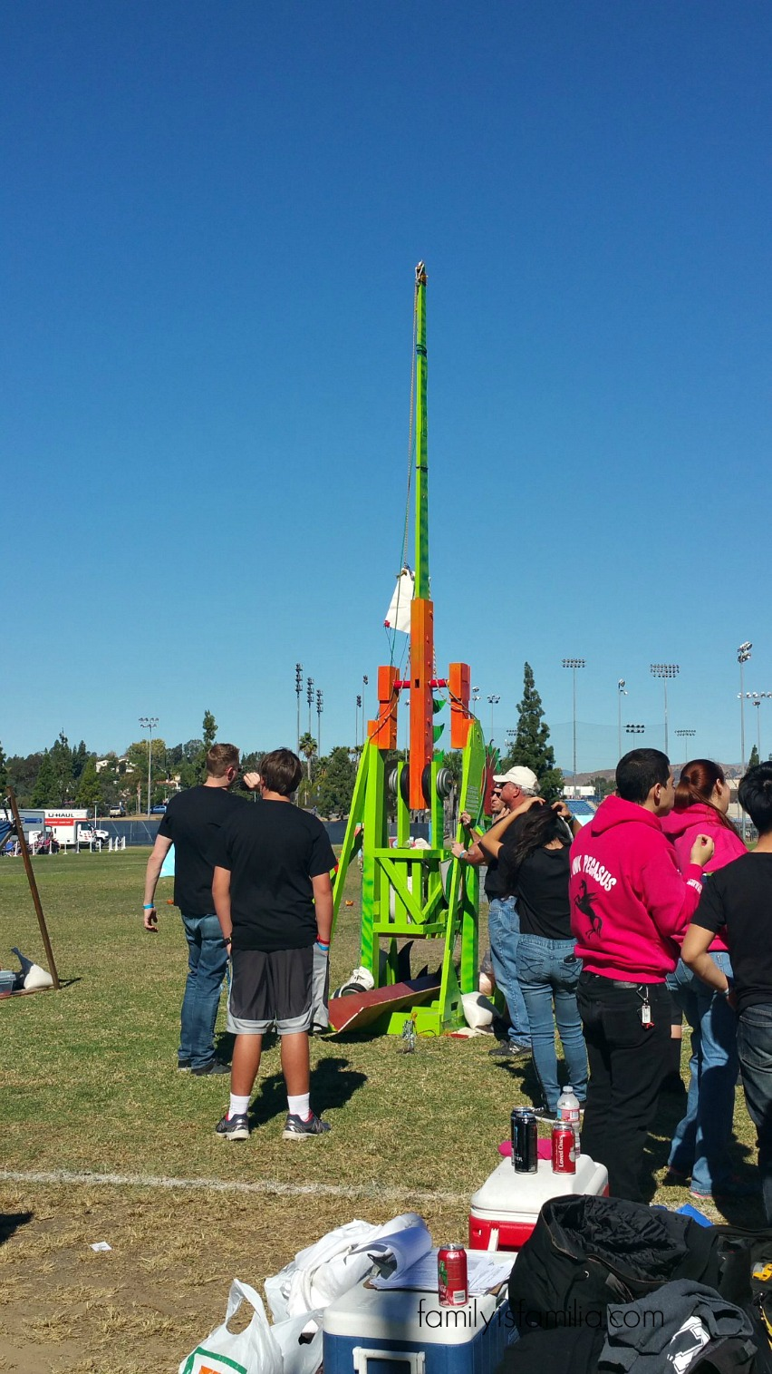 Pumpkin Launch Fun with Discovery Cube!