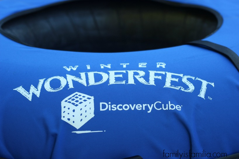 Enjoy Winter Wonderfest at Discovery Cube in Orange County #Giveaway