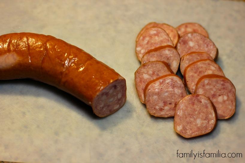 Sausage for pasta dish- familyisfamilia.com