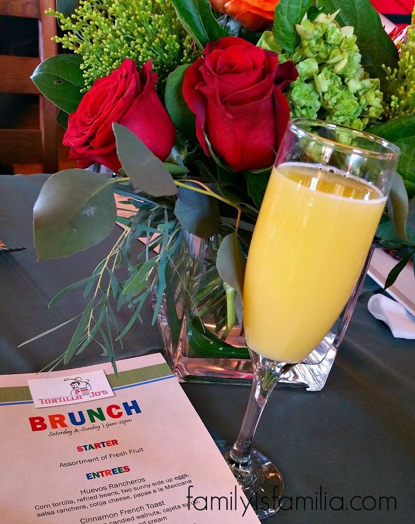 Brunch Ideas: Bottomless Mimosa Brunch at Tortilla Jo's!