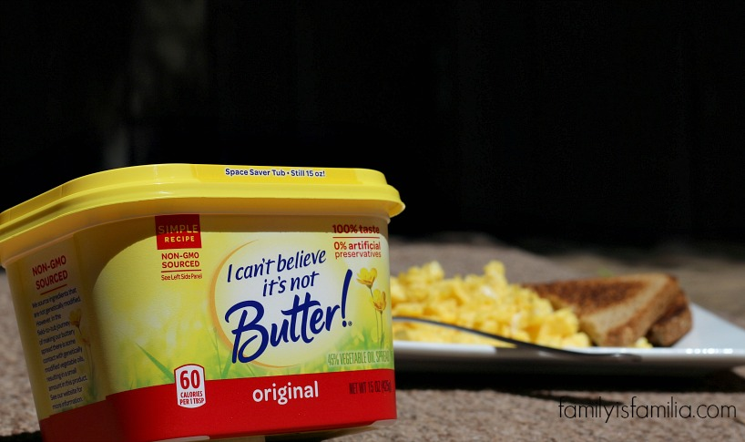 I can't believe it's not Butter Breakfast Scramble #MakeMoreOfMealtime