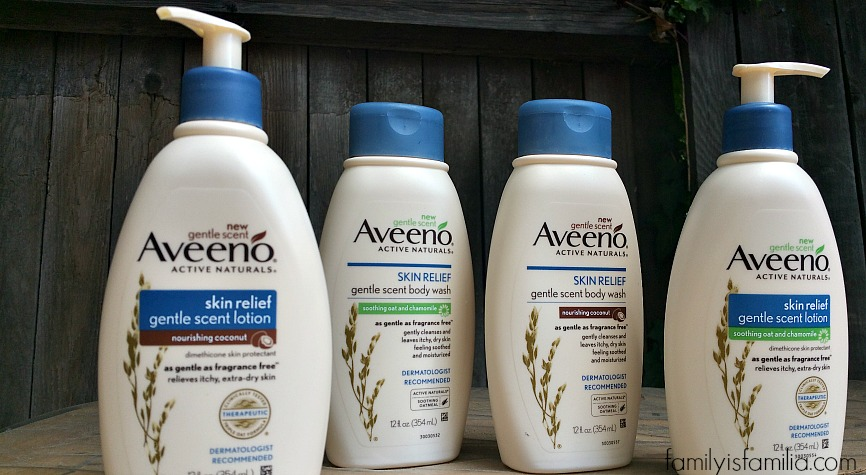AVEENO Skin Relief Gentle Scent Collection #Giveaway