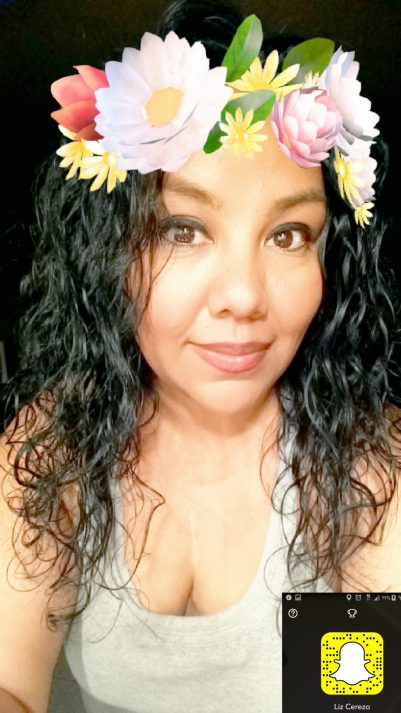 Latina Mom Blogger on Snapchat
