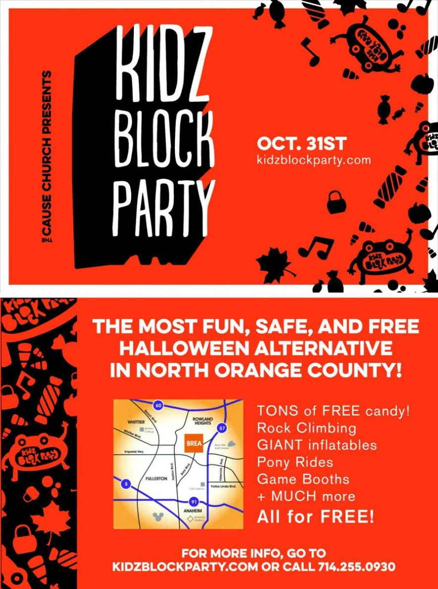 Family-Friendly Halloween Alternative in North Orange County, Ca!