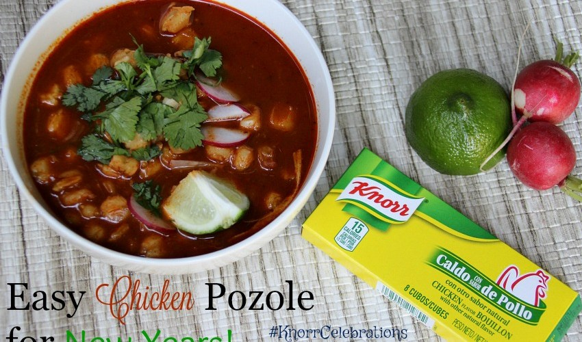 Easy Chicken Pozole for New Years
