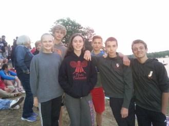 Cousins reunite at the lake