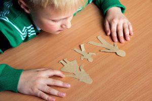 Child doing jigsaw - divorce lawyer