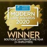 modern law awards winner 2020