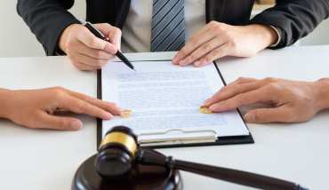 divorce settlement photo