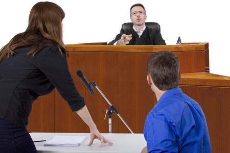 Family and divorce court trial