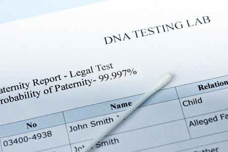 Paternity test in family court