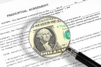 Timing of a prenuptial agreement