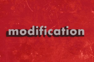 Motions to modify in family law