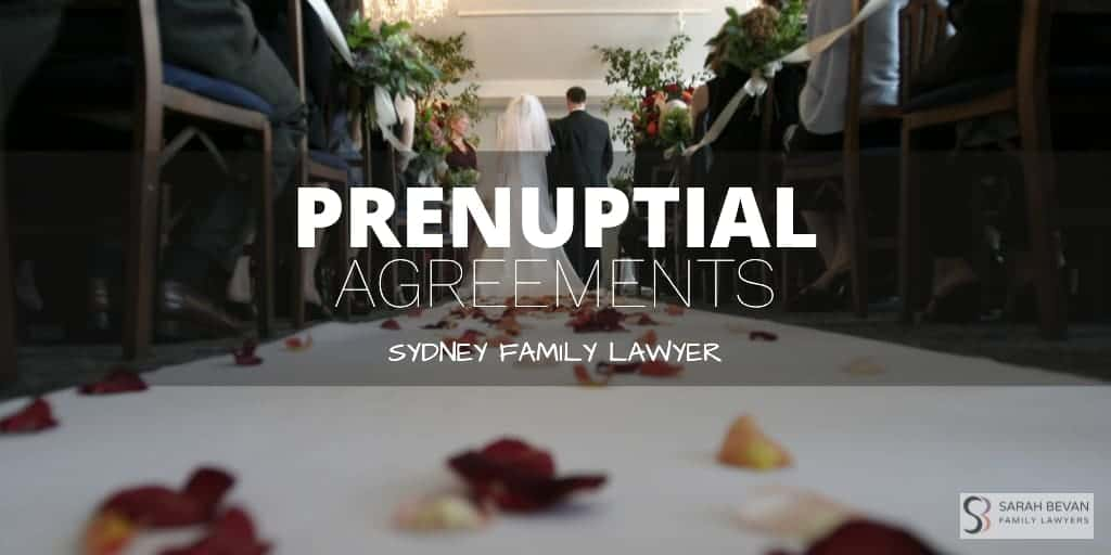 Prenuptial Agreements Family Lawyers Sydney