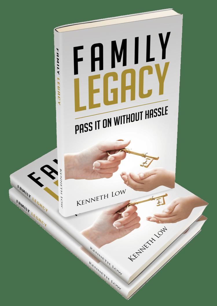 Family Legacy Book Written By Renowned Keynote Speaker -Mr. Kenneth Low