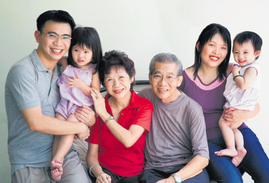 media appearances on Straits Times - Family Legacy