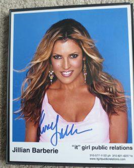 Authentic Signed 8×10 photo Fox NFL Show Jillian Barberie