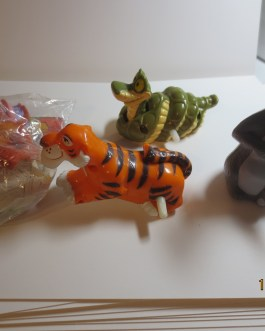 Jungle Book 4 Piece Complete Set Wind-ups McDonalds Happy Meal Toys 1989 1 unopened