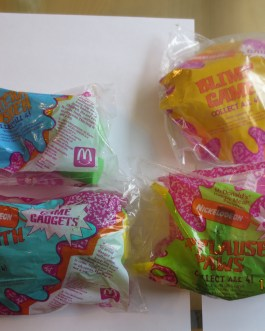 McDonald's 1992 Happy Meal Toys Nickelodeon Complete Set new in package