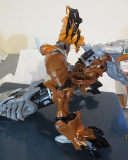 Transformers Age of Extinction GRIMLOCK Near Complete Hasbro Voyager class movie 2014