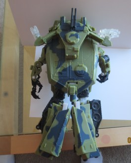 Near Complete Transformers Movie BRAWL Deluxe 2007 Tank Adult Owned Action Figure