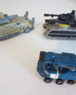3 piece lot Transformers vehicle includes broadside & others