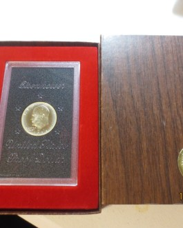 1974s Cameo silver proof Eisenhower Ike dollar in OGP nice