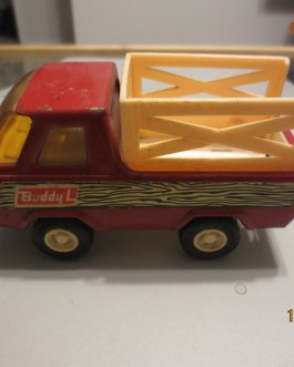 Vintage 1979 Buddy L Farm Country Pickup Stake Truck Made in Japan Toy