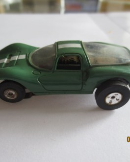 Vintage Aurora #1381 Dino Ferrari HO Scale Slot Car T-jet Thunderjet Green 1960s