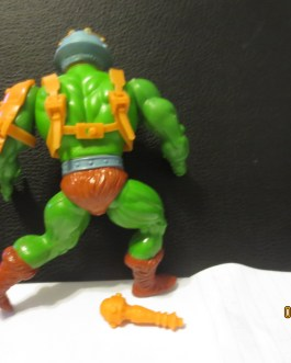 Masters of the Universe 1982 vintage MOTU Near Complete Soft Head Man at arms figure