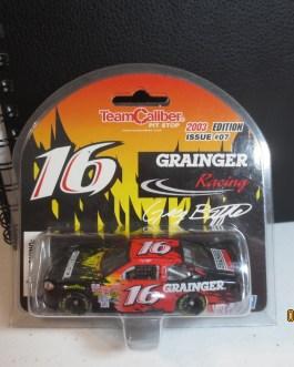 #16 Greg Biffle Jack Roush Racing NASCAR Diecast Car_ DAYTONA 500 ROOKIE STRIPES